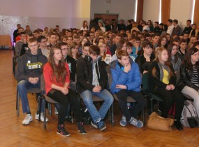 ZSRCKU - Spotkanie z gimnazjalistami