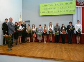 ZSRCKU - Uroczyste wręczenie świadectw ukończenia szkoły