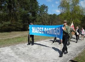 ZSRCKU - IV Marsz Pamięci w Chełmnie  n/Nerem