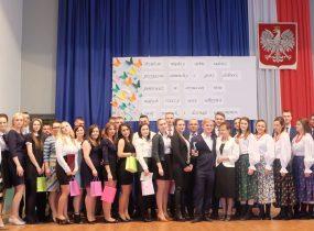 ZSRCKU - Ceremonia rozdania świadectw maturzystom