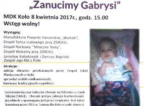 ZSRCKU - Pomóżmy Gabrysi