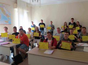 ZSRCKU - Szczęśliwi i zadowoleni z zagranicznych staży zawodowych.