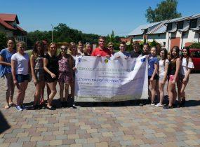 ZSRCKU - I grupa uczniów ZSRCKU Kościelec gotowa do wyjazdu na staz do Hiszpanii.