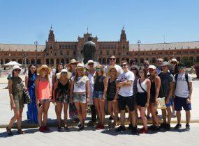 ZSRCKU - Wizyta monitorująca staże w Hiszpanii