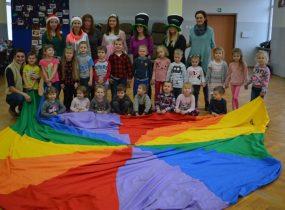 ZSRCKU - Szkolne Koło Wolontariatu zorganizowało zajęcia dla przedszkolaków.