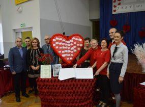 ZSRCKU - 15 lecie działalności Szkolnego Koła Honorowych Dawców Krwi