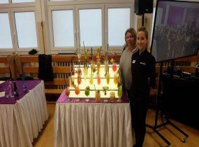 ZSRCKU - Sukces uczennicy ZSRCKU w Kościelcu w międzynarodowym konkursie barmańskim