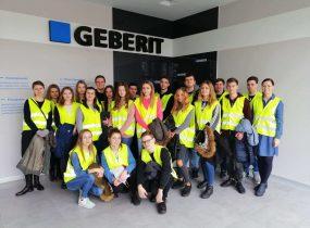 ZSRCKU - Z wizytą w firmie GEBERIT