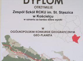 """ZSRCKU - Ogólnopolski konkurs geograficzny  """"GEO-PLANETA"""""""